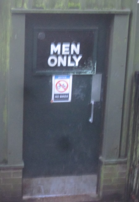 "Door to men""s pond"