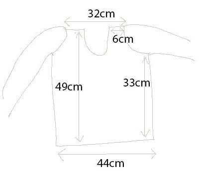 Anorak dimensions